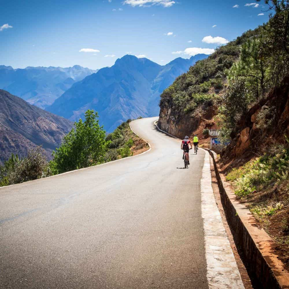 backroads cycling on holiday in Yunnan, China