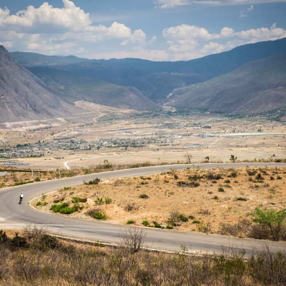 Yunnan, China scenery for cycling tour