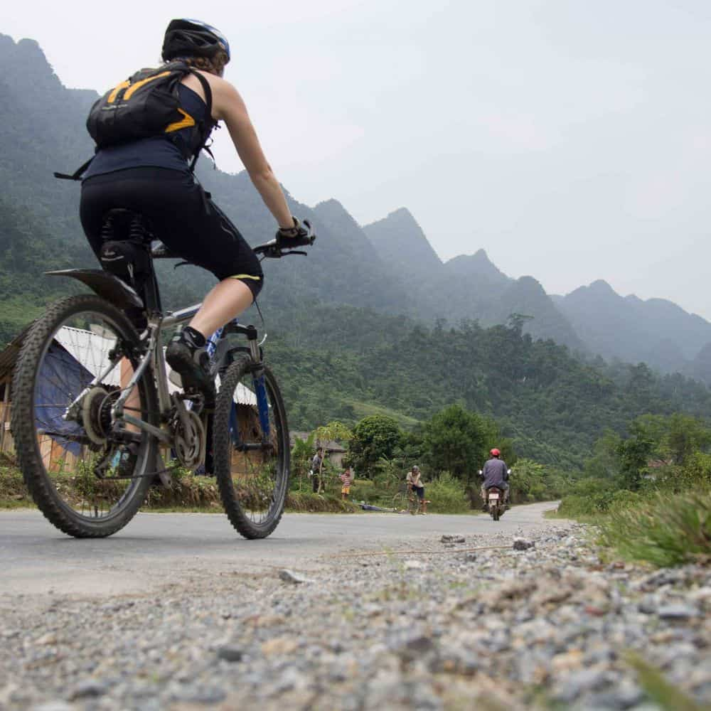 exploring Vietnam by bicycle touring