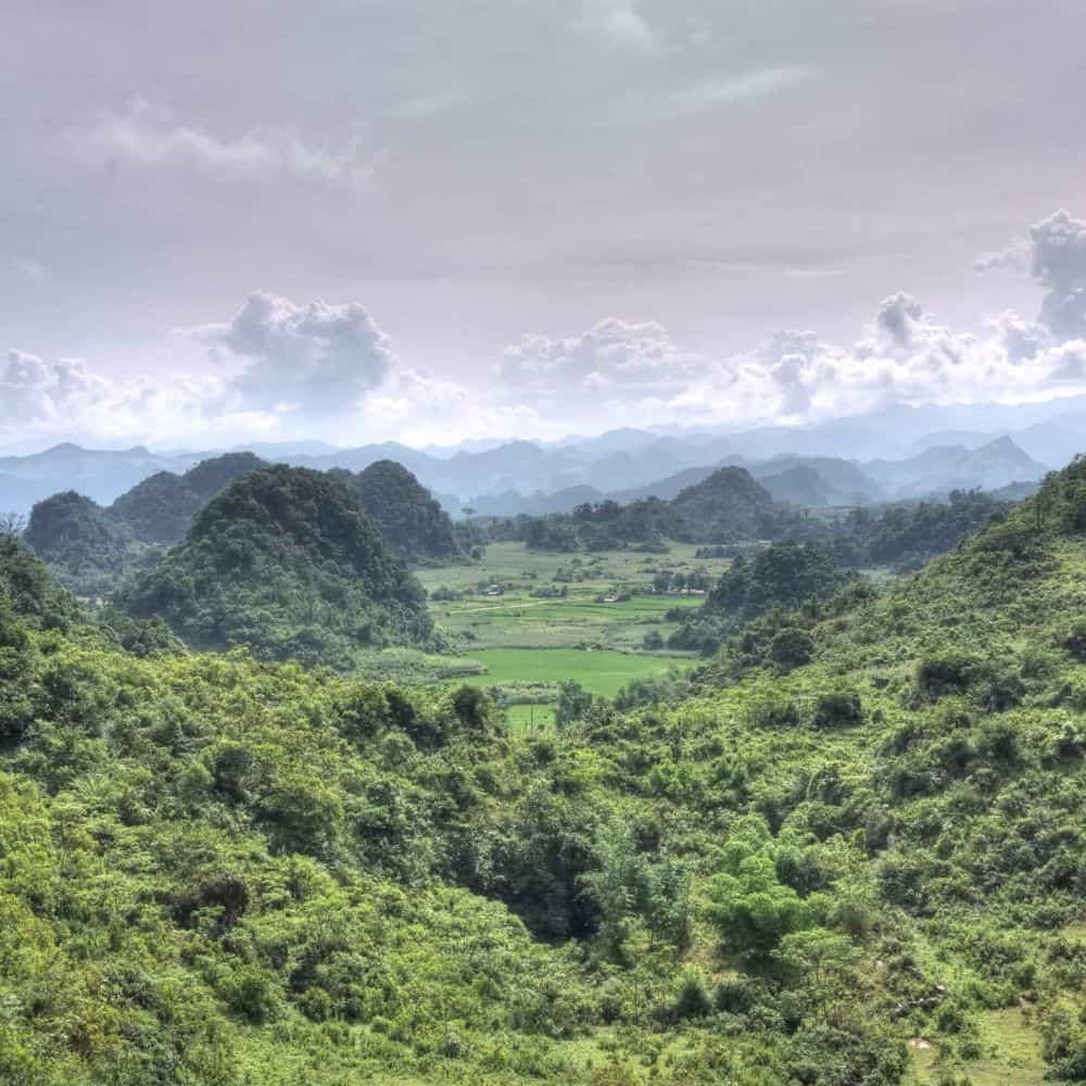 remote adventure cycling in Vietnam