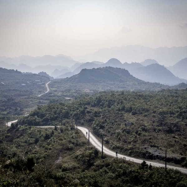 a fairy tail like scene in northern vietnam