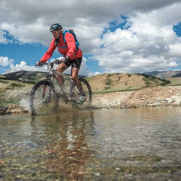 adventure cycling in Mongolia's Altai mountains