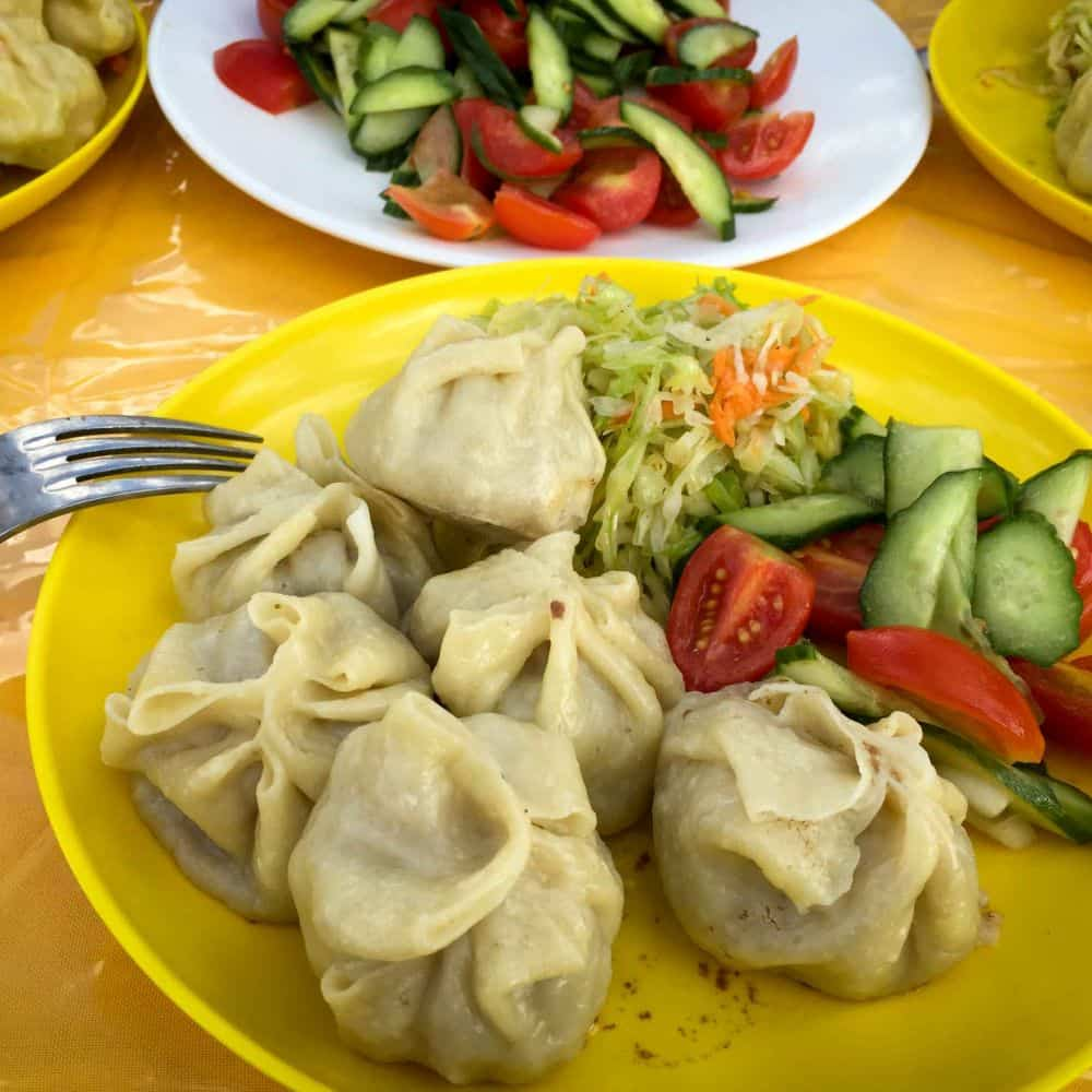 Mongolian steamed dumplings