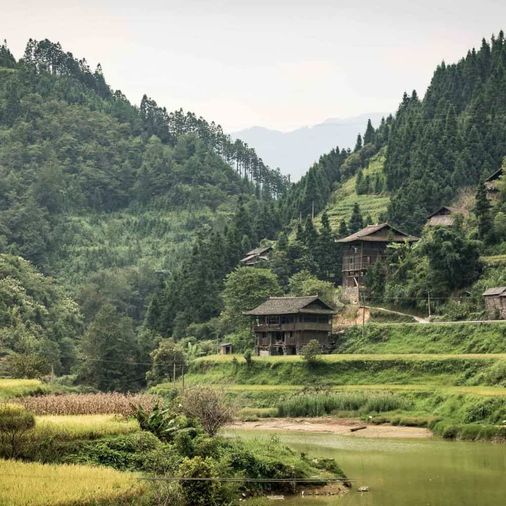 guanxi guizhou China cycle touring holiday