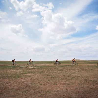 supported cycling adventure holiday in Mongolia