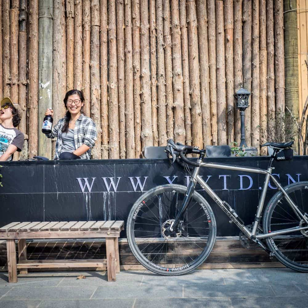 guided cycling holidays support team in China