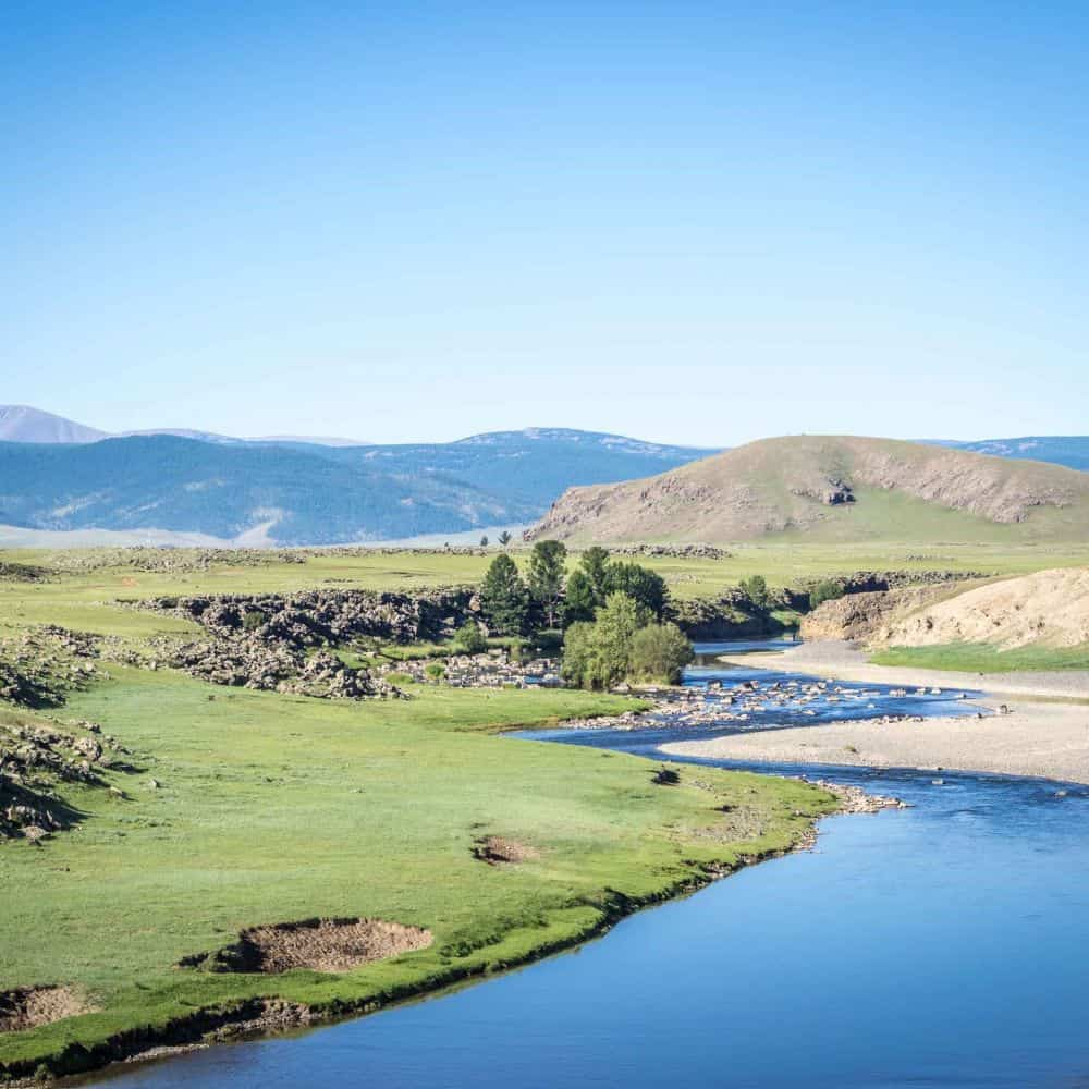 Cycling the Orkhon Valley