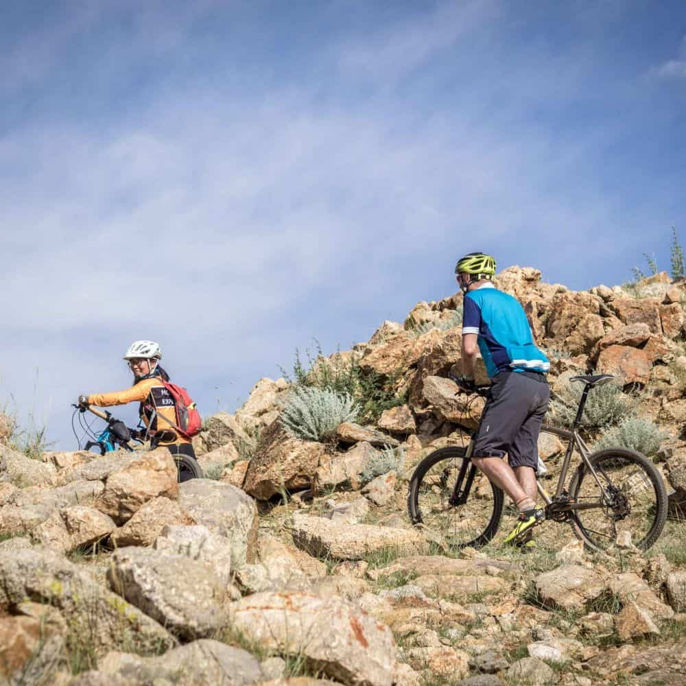 Cycling holiday on the Mongolian steppe