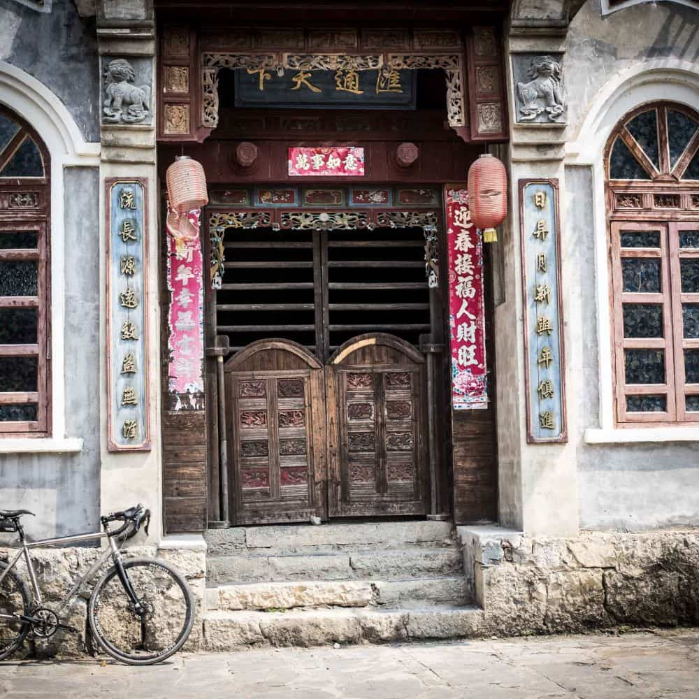 cycling in southern China