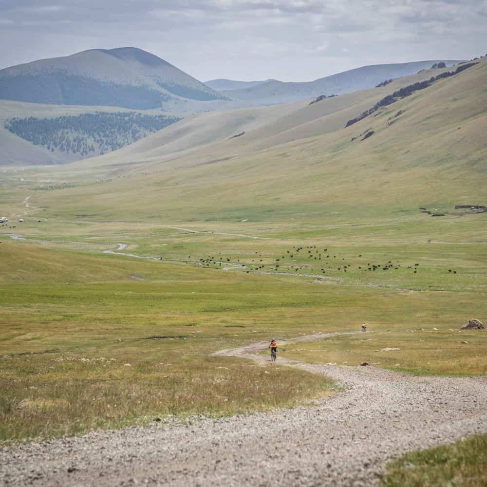guided cycling adventure holiday in Mongolia