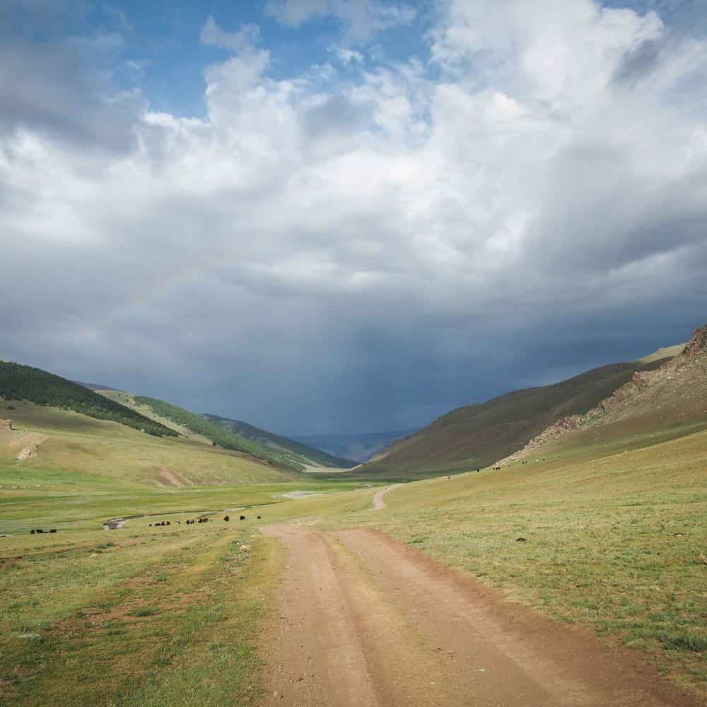 explore Mongolia by cycling