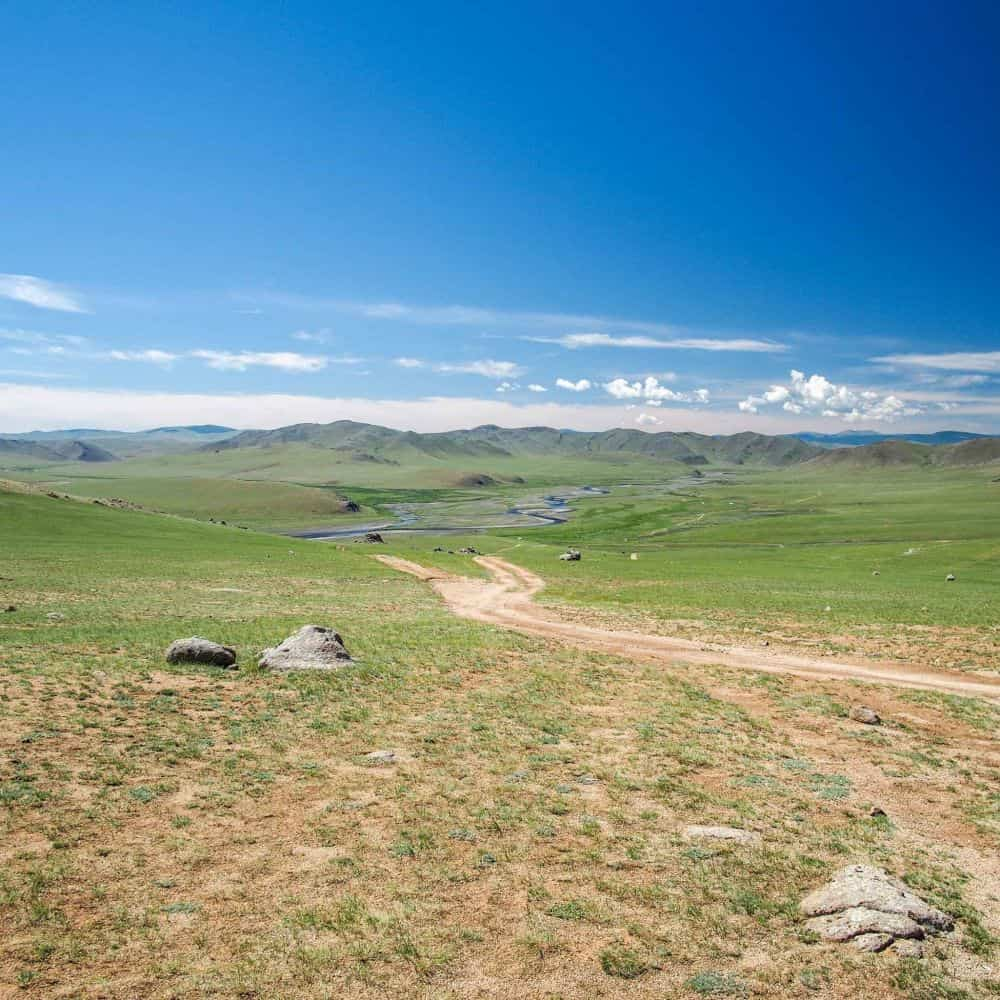 Cycling holiday in Mongolia