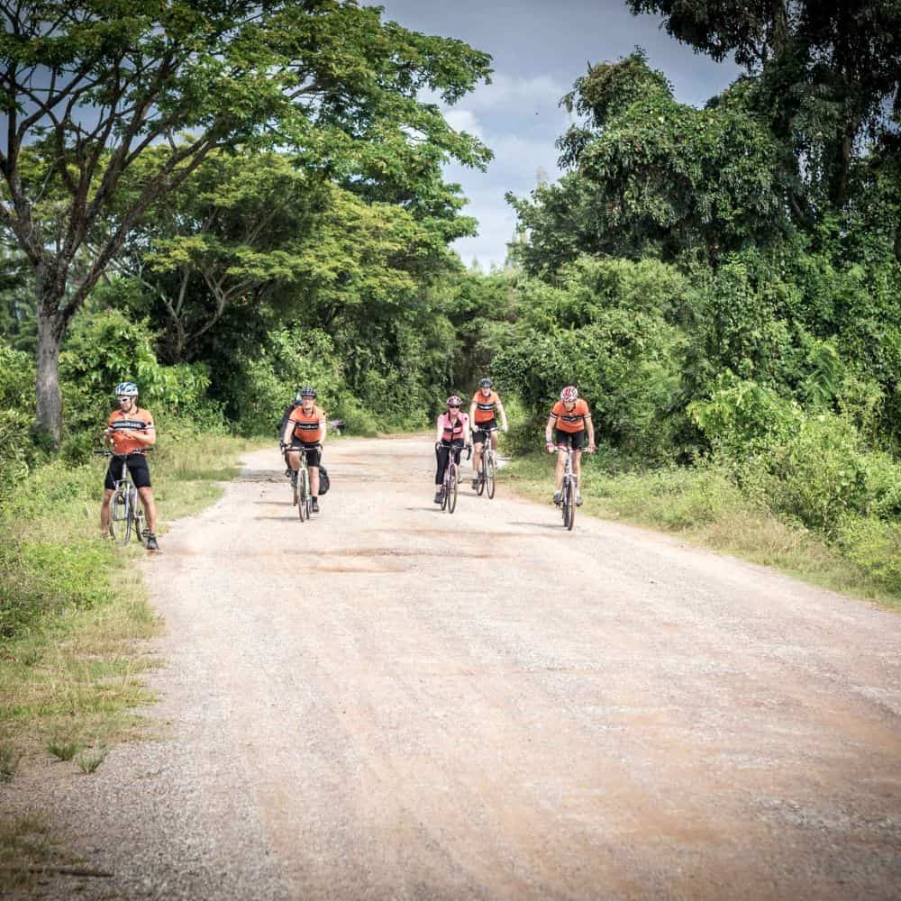 Cycling Thailand gravel roads