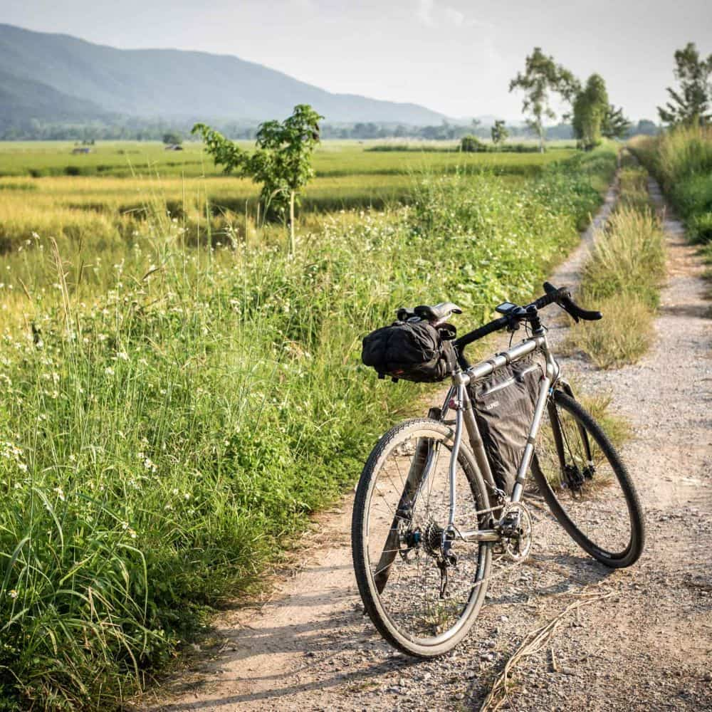 Gravel cycling in Thailand