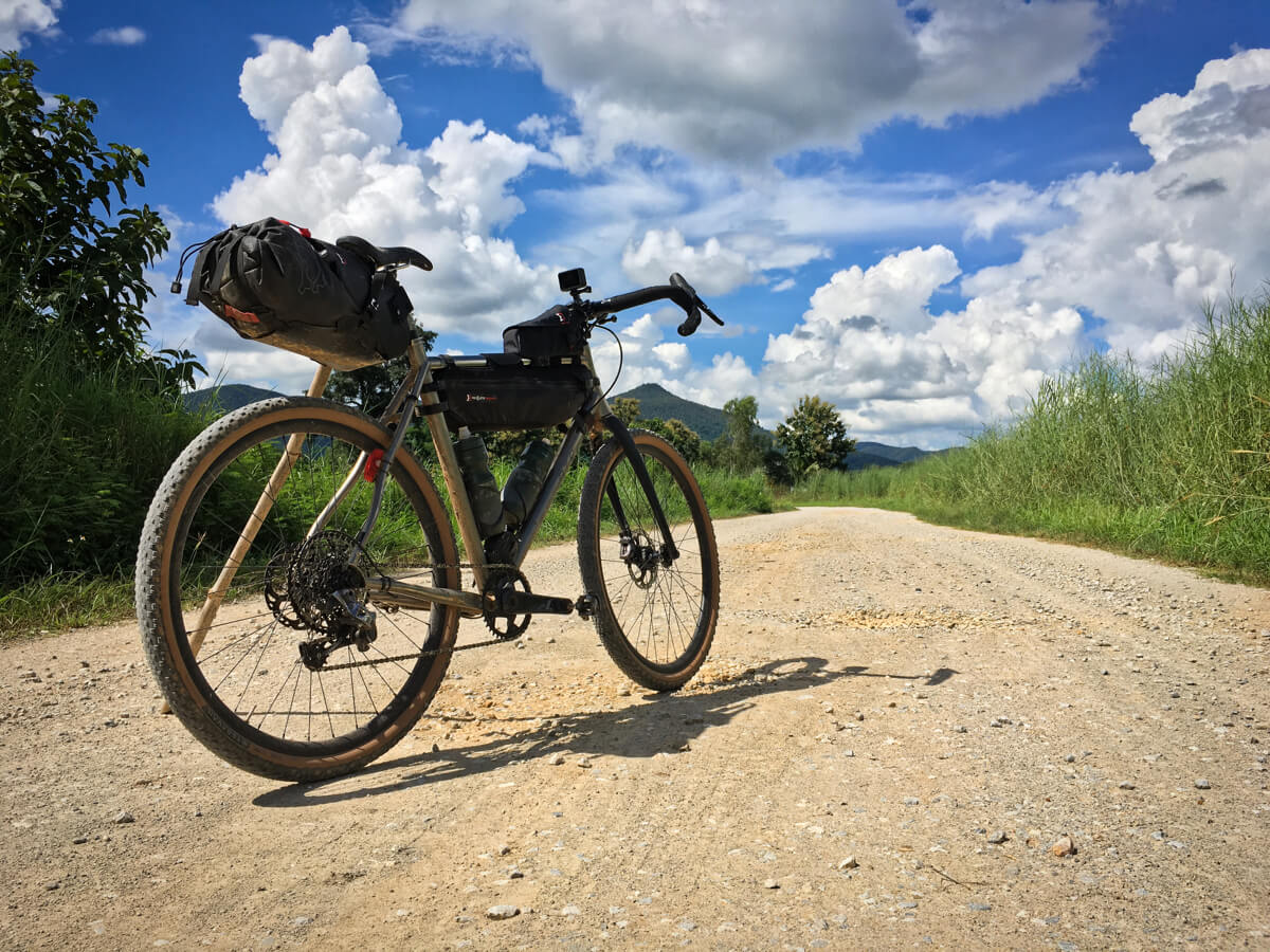 Bike Packing the Gravel Roads of North Thailand. A 4-day Micro Adventure. cycling holidays banner image
