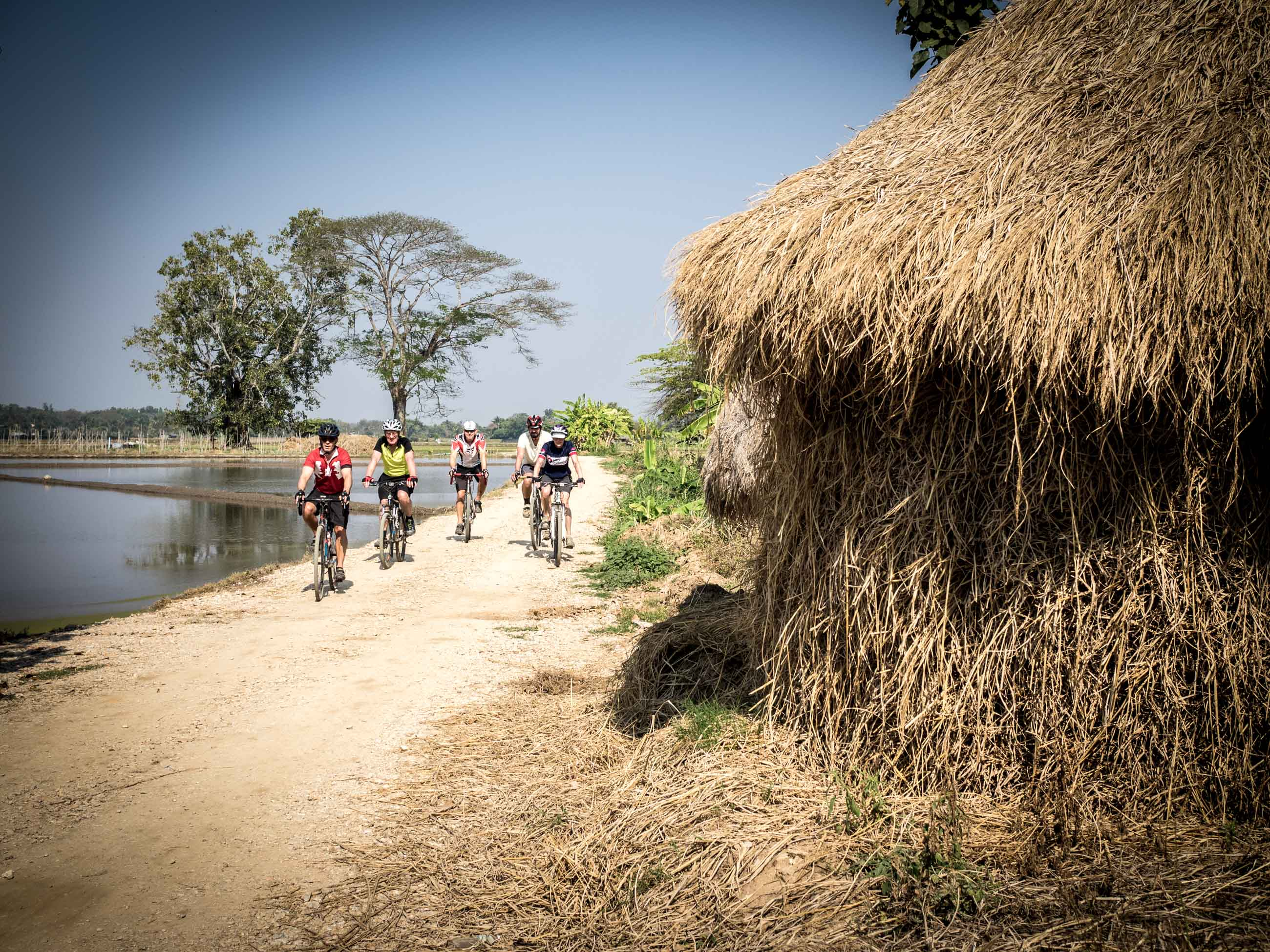 Cycling tour holiday in Thailand - North