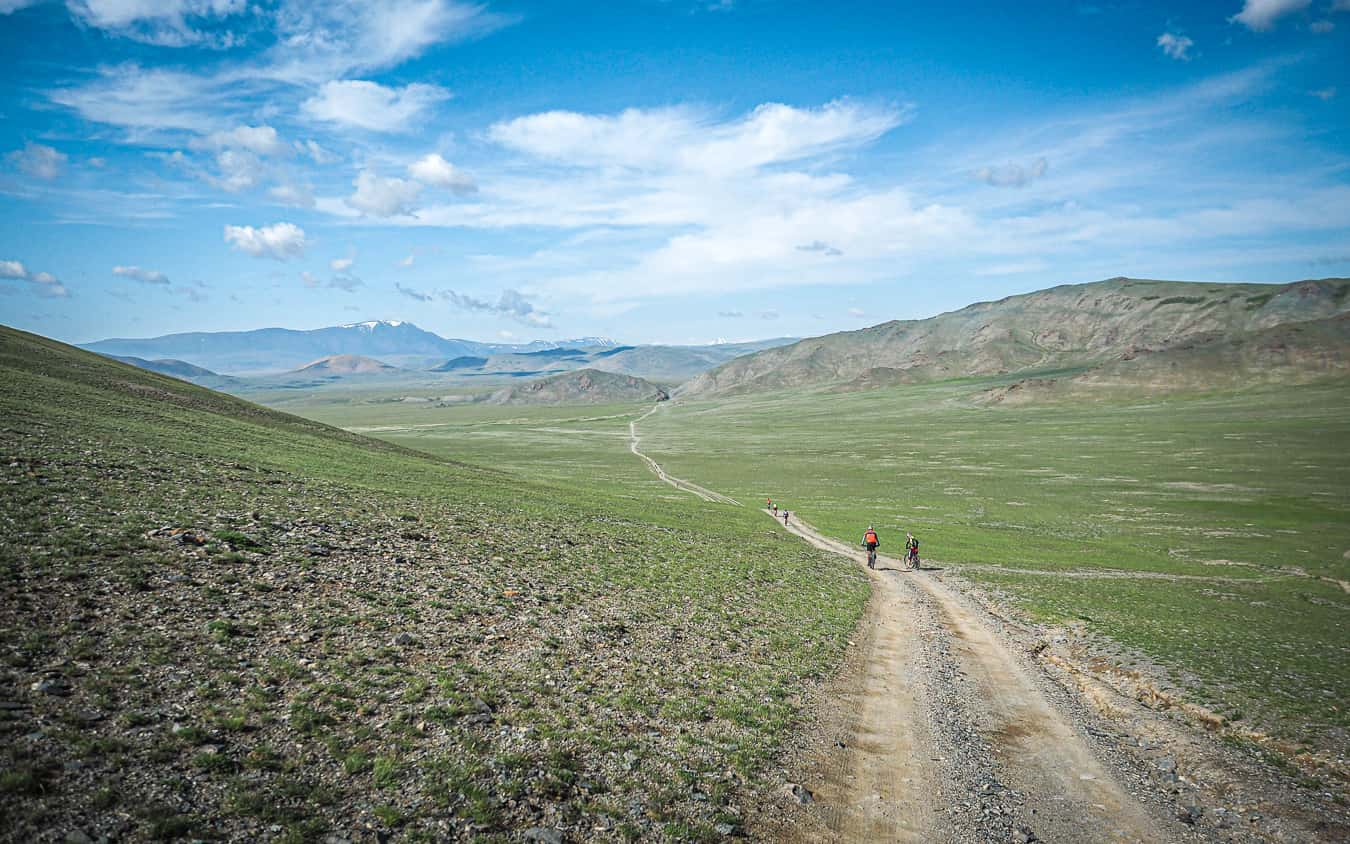 Cycling tour holiday in Mongolia Altai