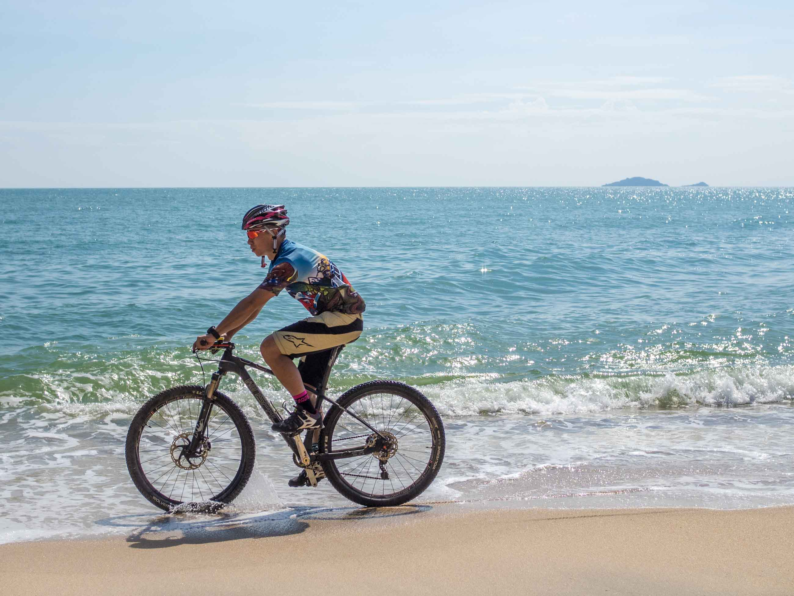 Cycling tour holiday in Thailand - South