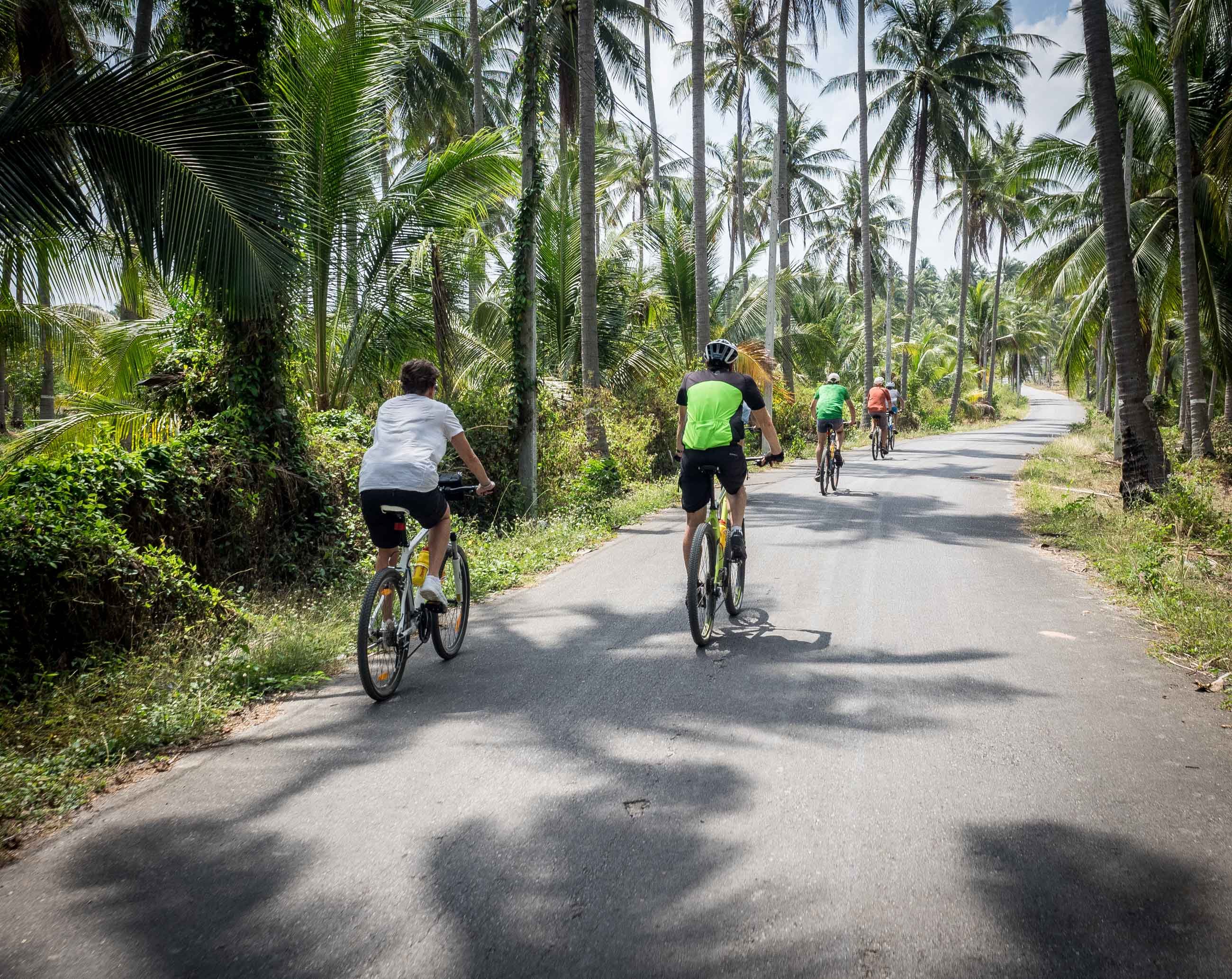 Cycling tour holiday in Thailand Bespoke. QQ22/1