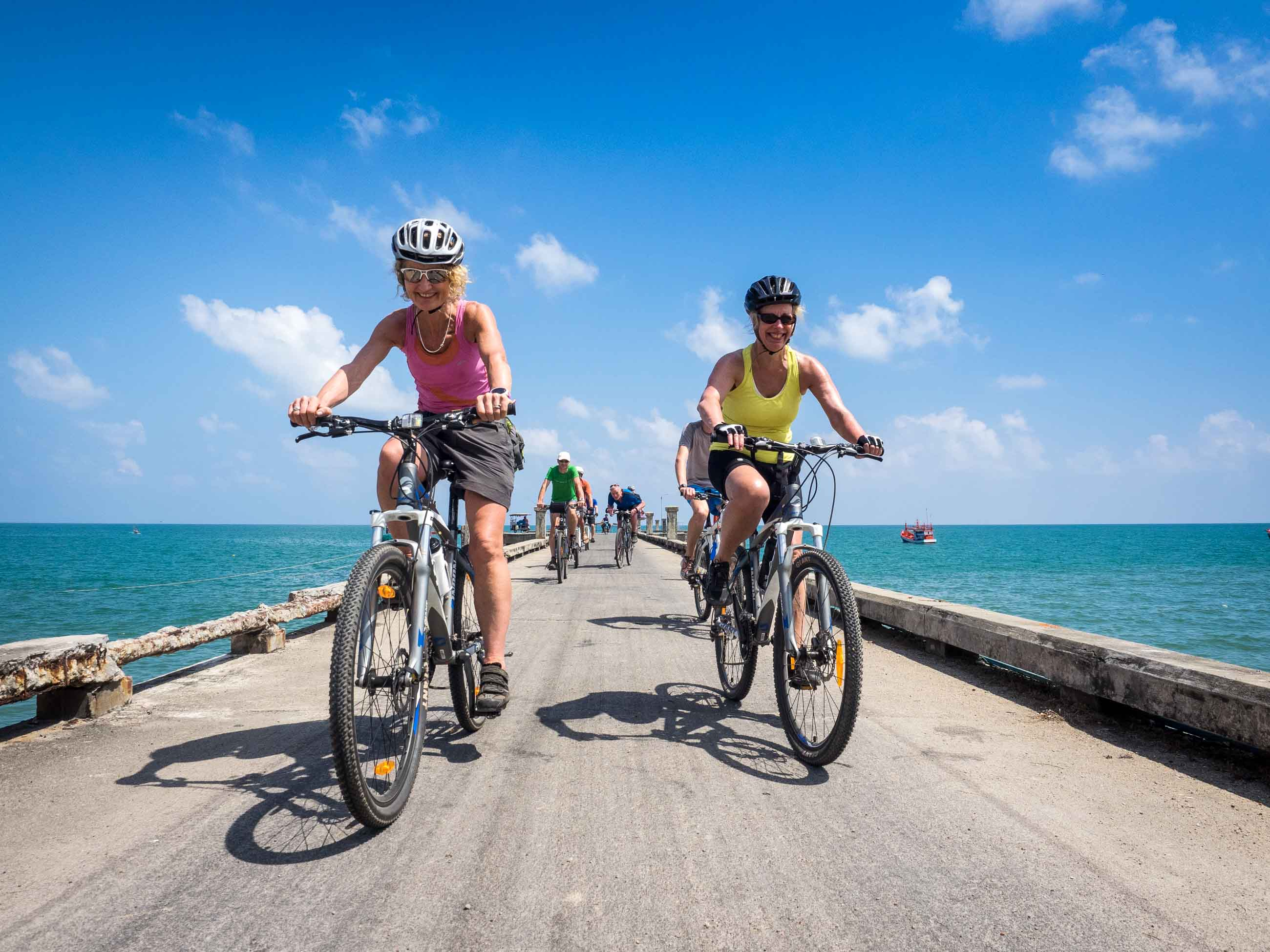 Thailand cycling holidays banner image