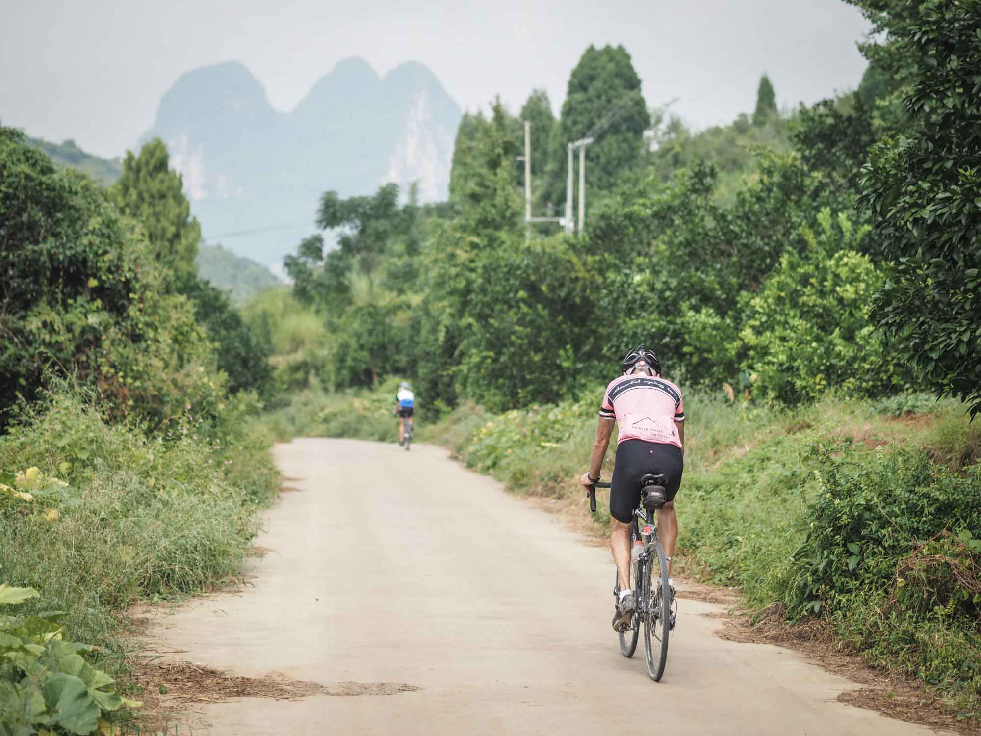Inaugural South China China Tour cycling holidays banner image
