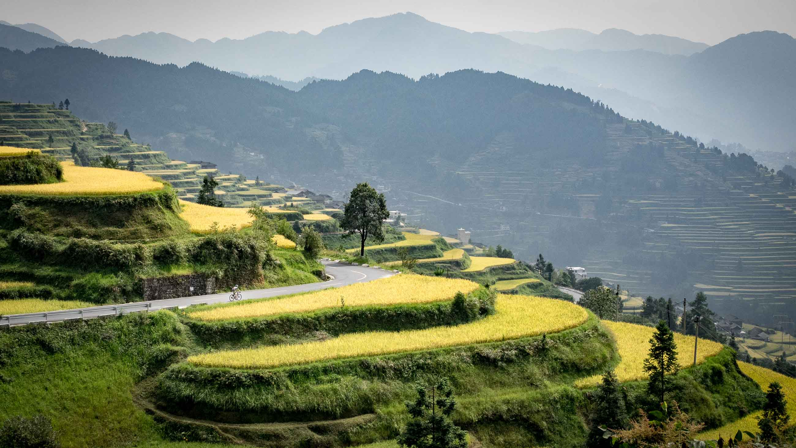 Cycling tour holiday in China - South