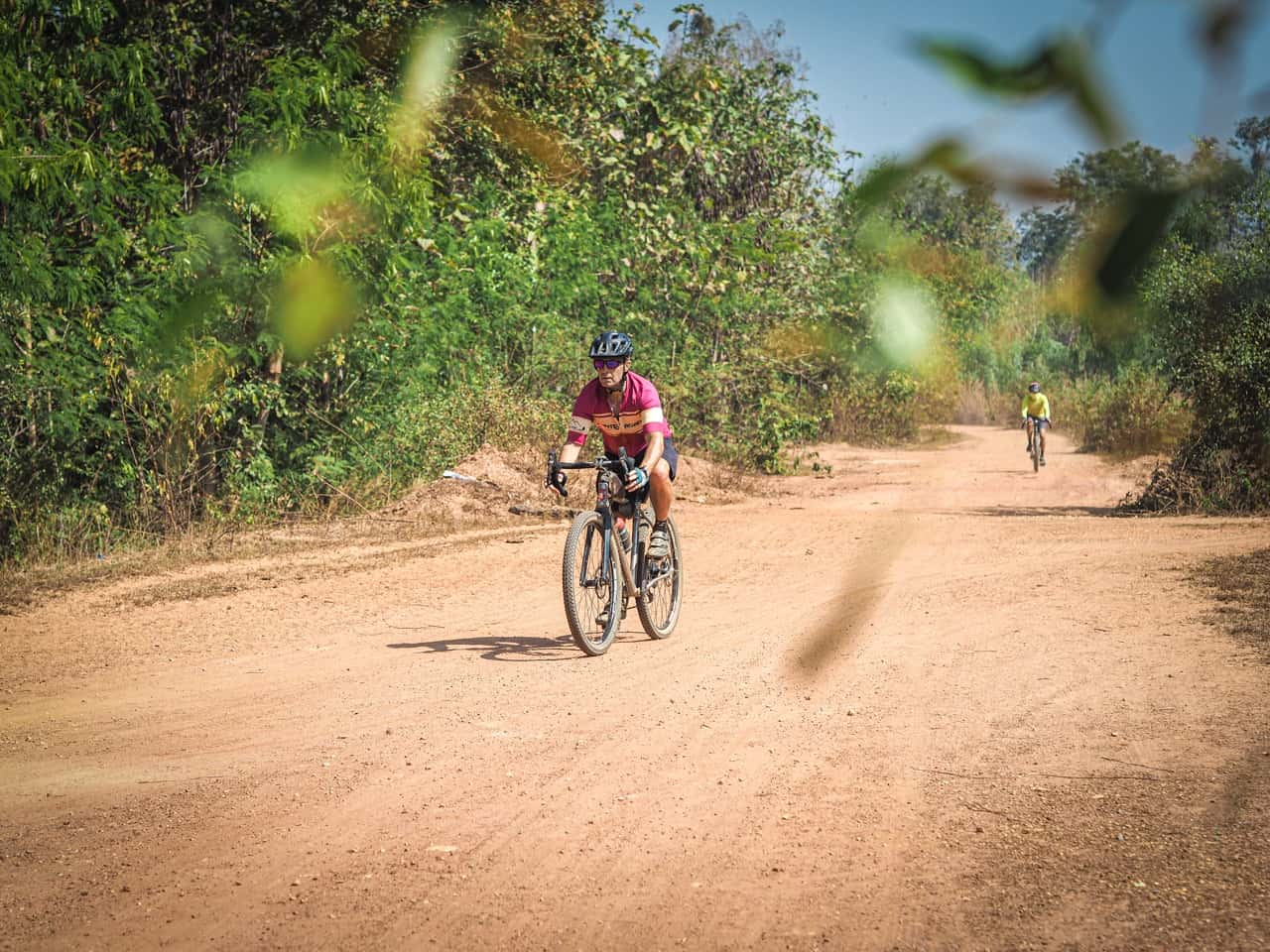 gravel bikes on cycling tour in Thailand