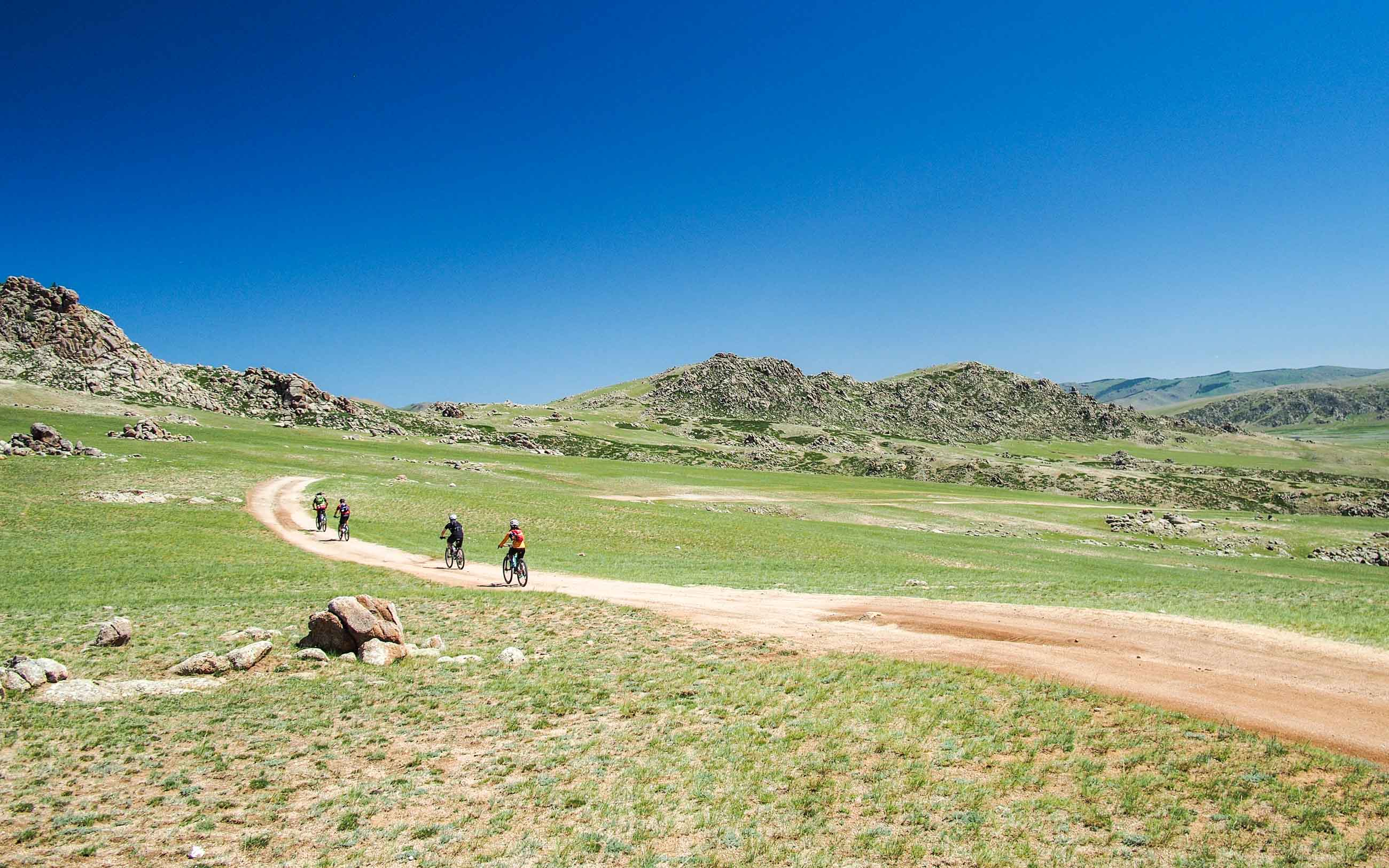 Cycling tour holiday in Mongolia